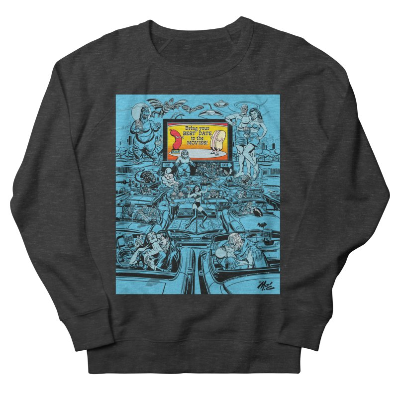 Take Your Best Date to the Movies! Men's Sweatshirt by Mitch O'Connell