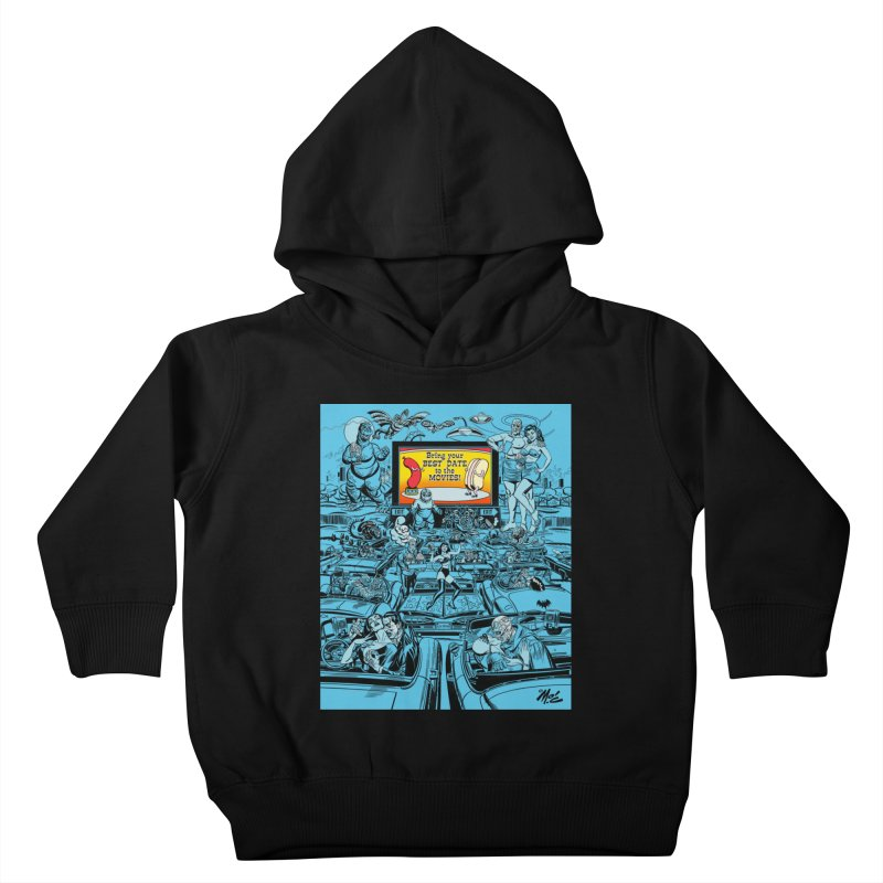 Take Your Best Date to the Movies! Kids Toddler Pullover Hoody by Mitch O'Connell
