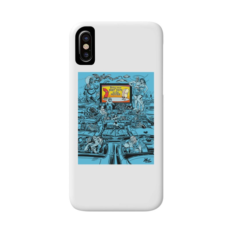 Take Your Best Date to the Movies! Accessories Phone Case by Mitch O'Connell