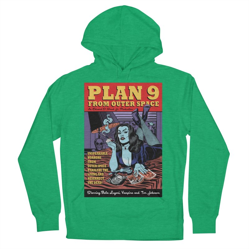 Plan 9 Women's Pullover Hoody by Mitch O'Connell