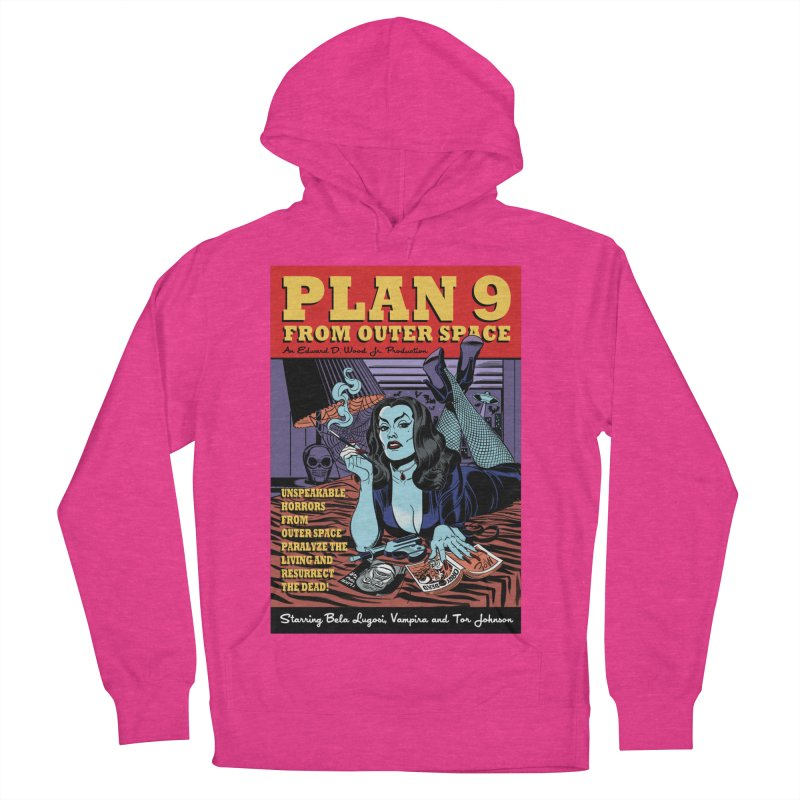 Plan 9 Men's Pullover Hoody by Mitch O'Connell