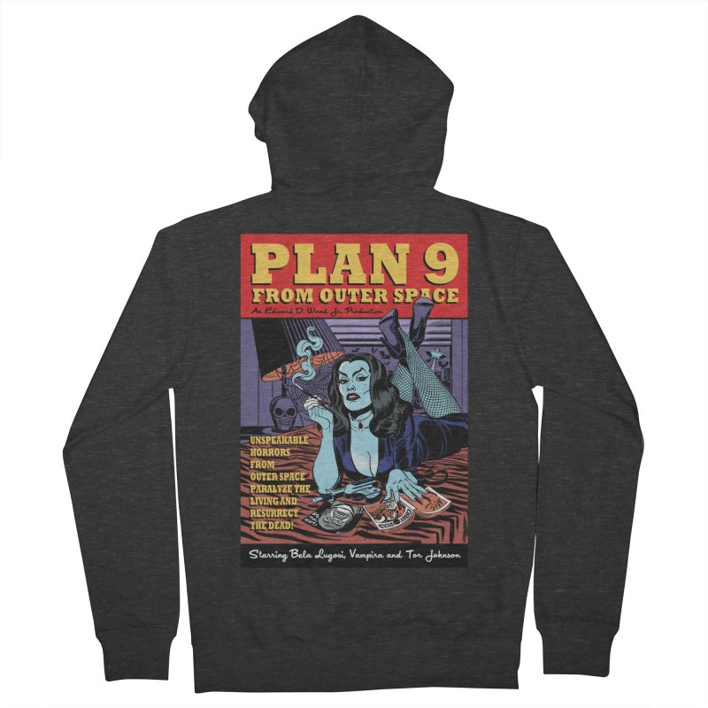 Plan 9 Women's Zip-Up Hoody by Mitch O'Connell