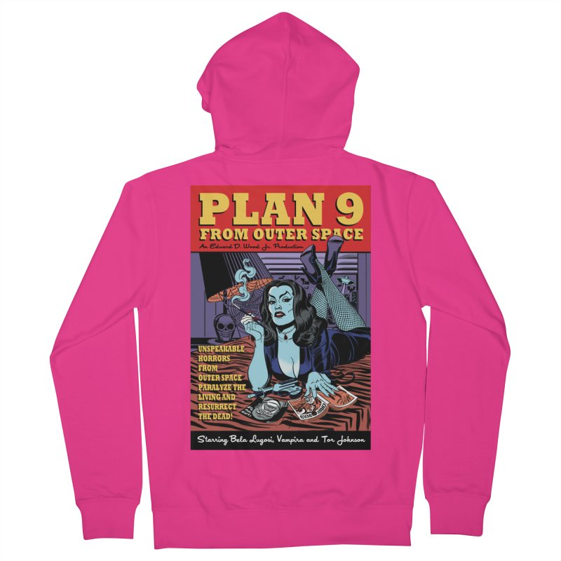 Plan 9 Men's Zip-Up Hoody by Mitch O'Connell