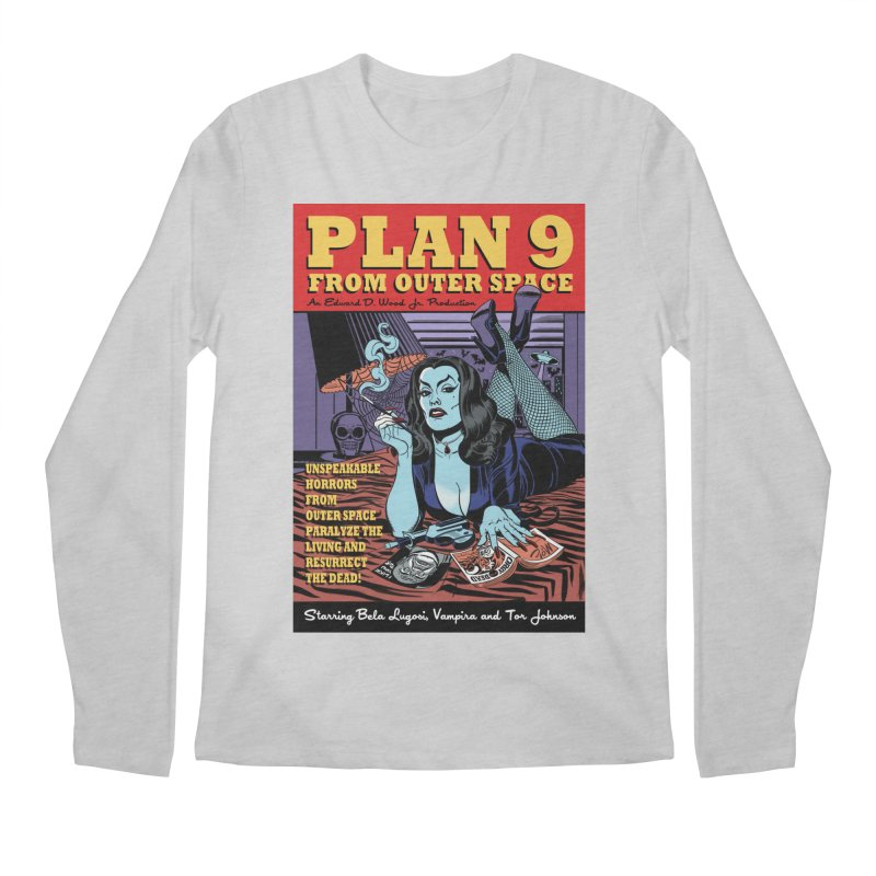 Plan 9 Men's Longsleeve T-Shirt by Mitch O'Connell