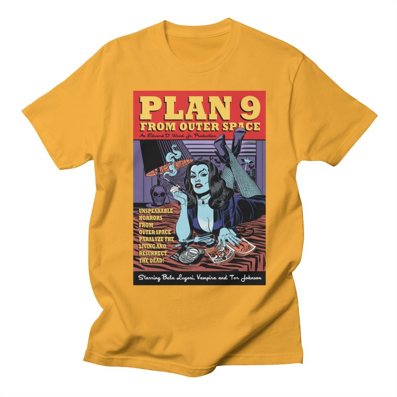 Plan 9 Women's Unisex T-Shirt by Mitch O'Connell