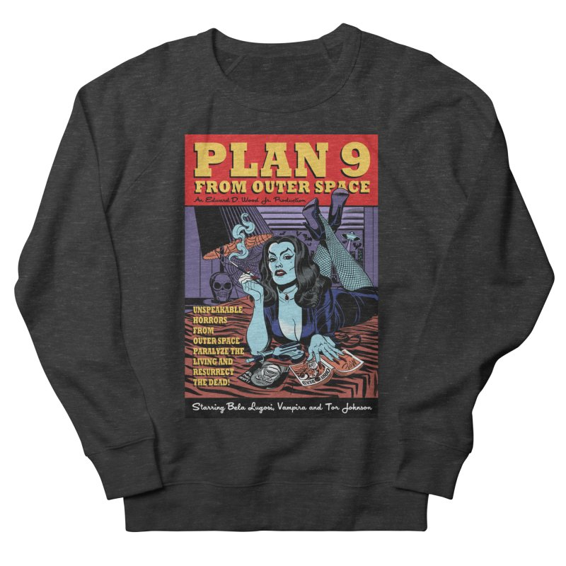 Plan 9 Women's Sweatshirt by Mitch O'Connell