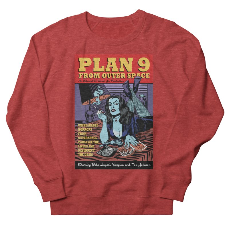 Plan 9 Men's Sweatshirt by Mitch O'Connell