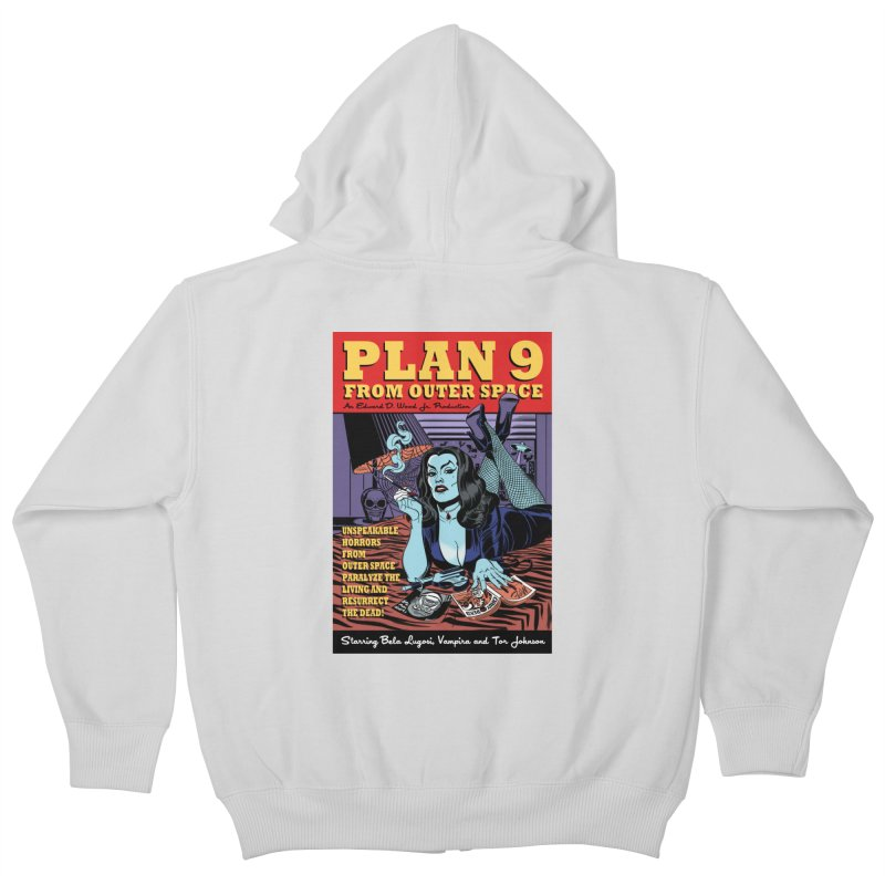 Plan 9 Kids Zip-Up Hoody by Mitch O'Connell