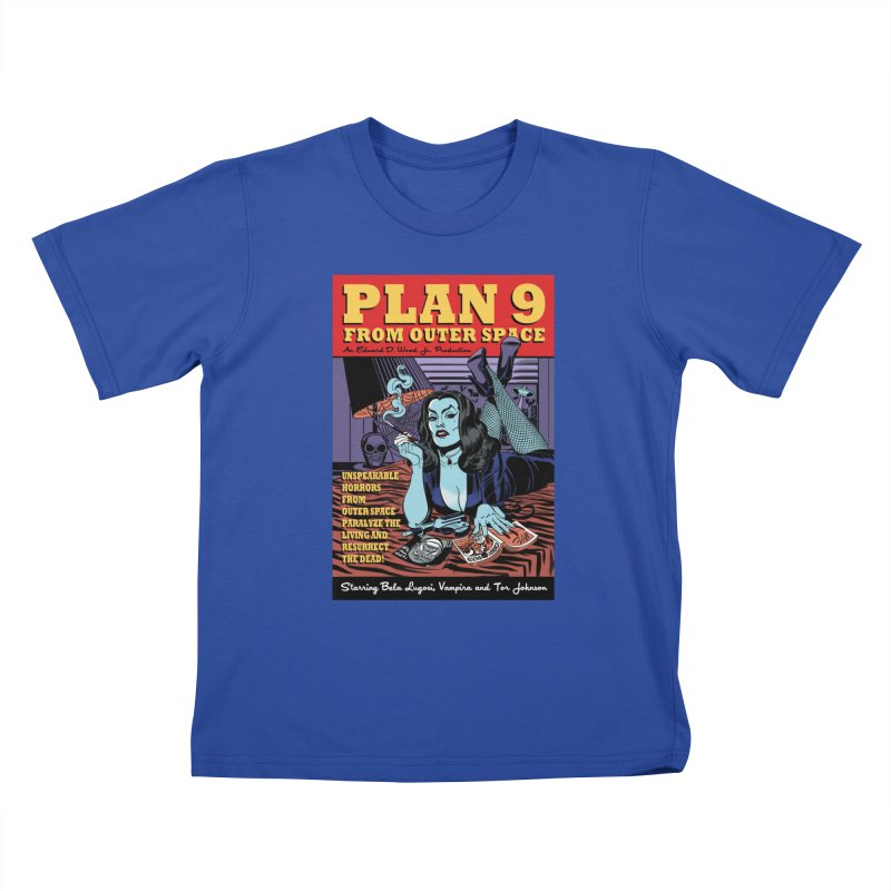 Plan 9 Kids T-Shirt by Mitch O'Connell