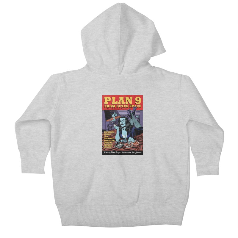 Plan 9 Kids Baby Zip-Up Hoody by Mitch O'Connell