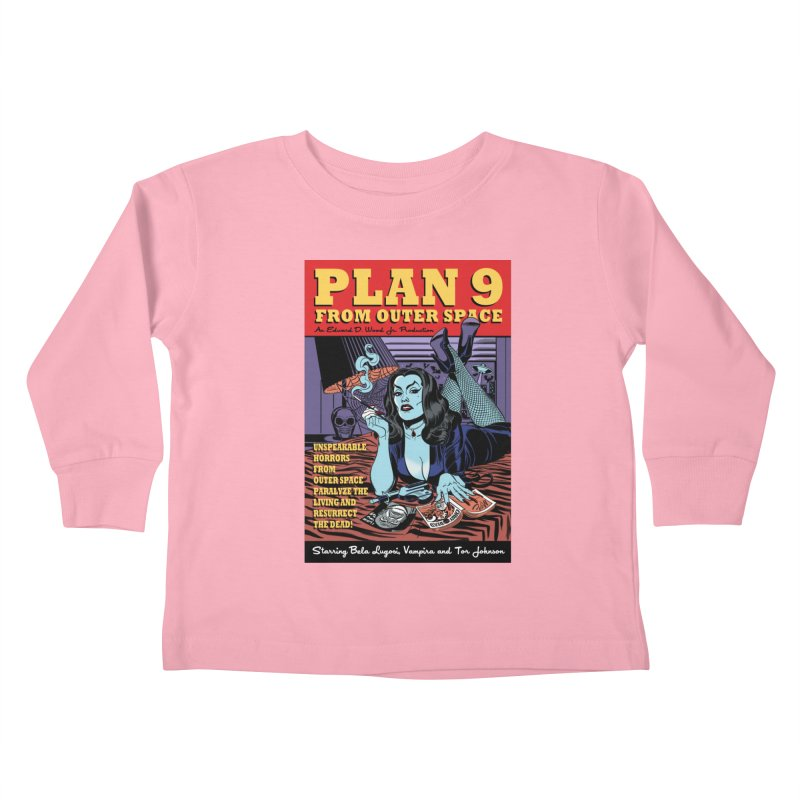 Plan 9 Kids Toddler Longsleeve T-Shirt by Mitch O'Connell