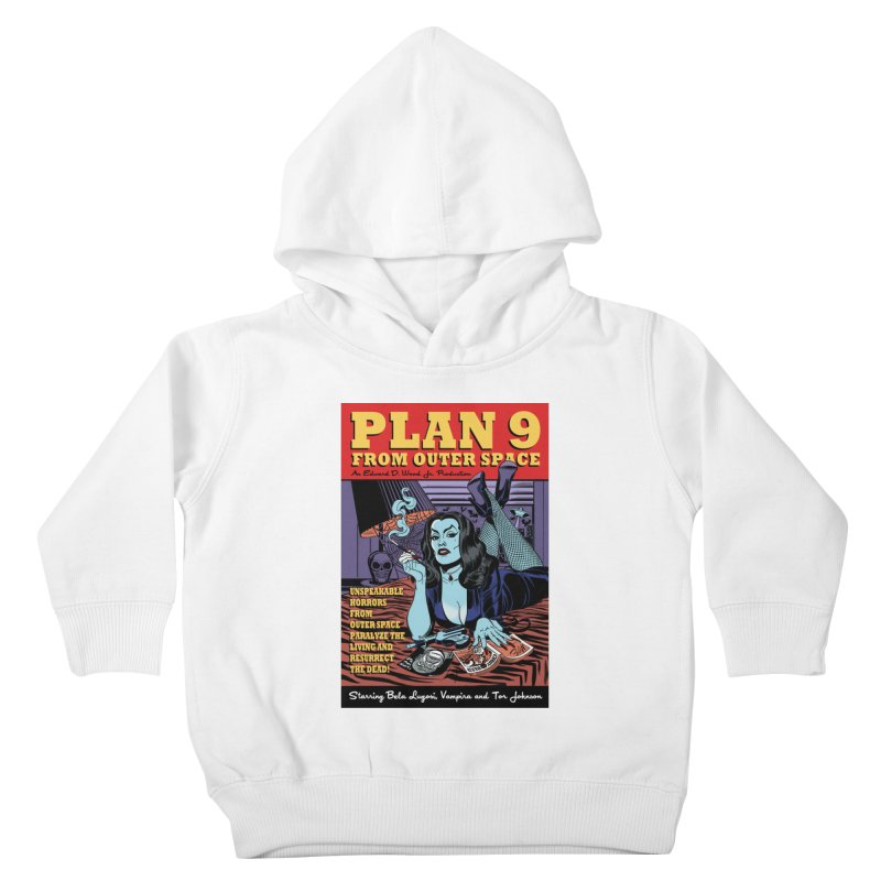 Plan 9 Kids Toddler Pullover Hoody by Mitch O'Connell