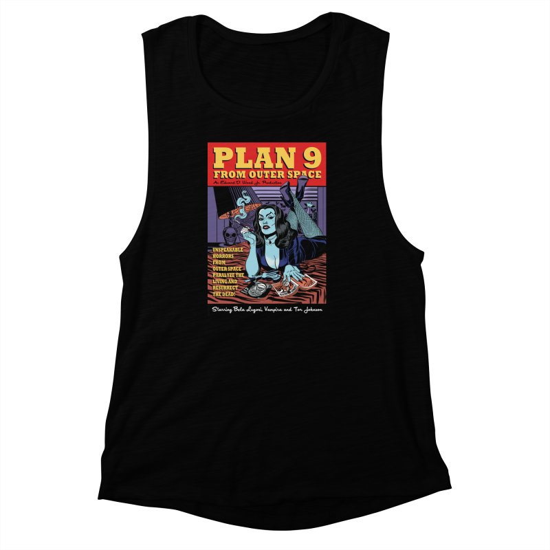 Plan 9 Women's Muscle Tank by Mitch O'Connell