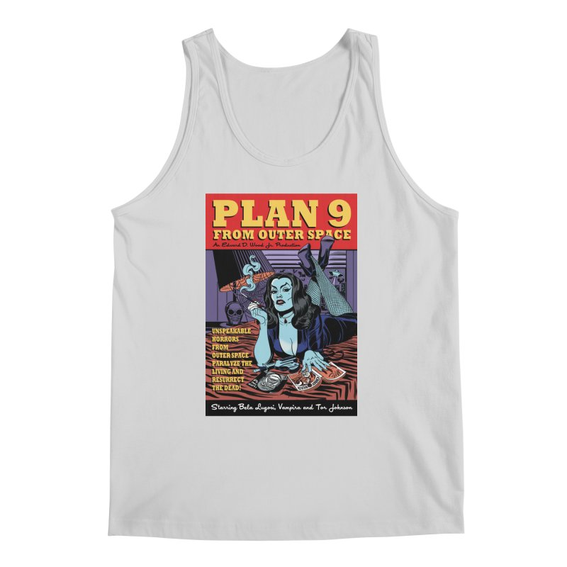 Plan 9 Men's Tank by Mitch O'Connell
