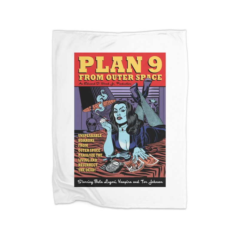 Plan 9 Home Blanket by Mitch O'Connell