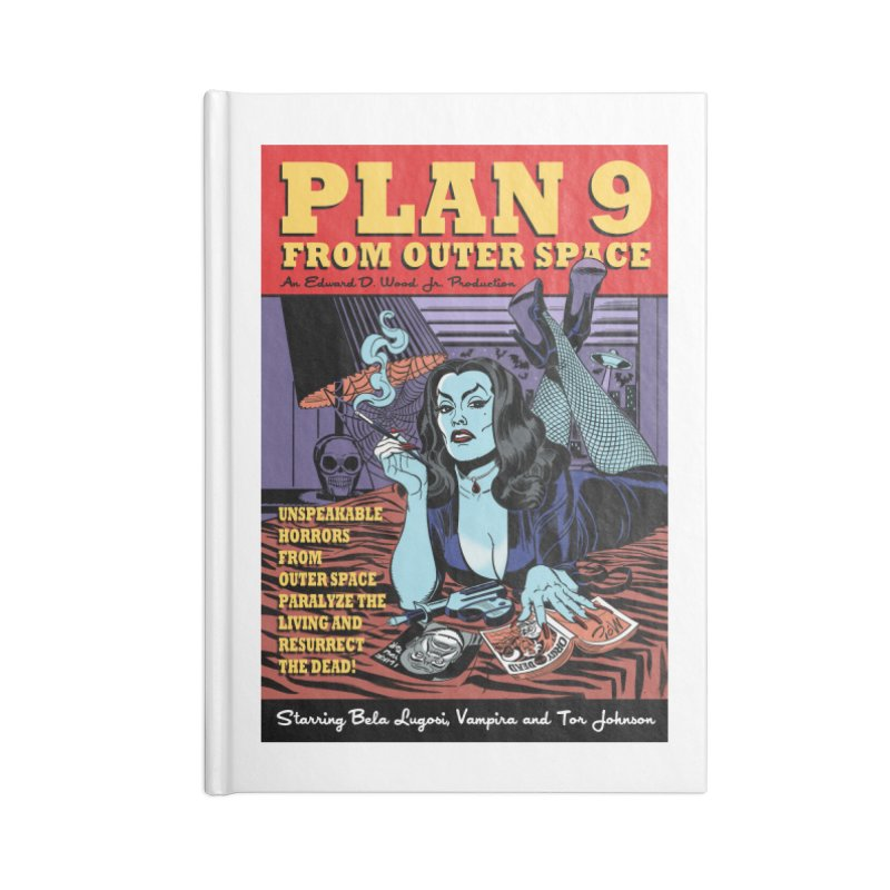 Plan 9 Accessories Notebook by Mitch O'Connell