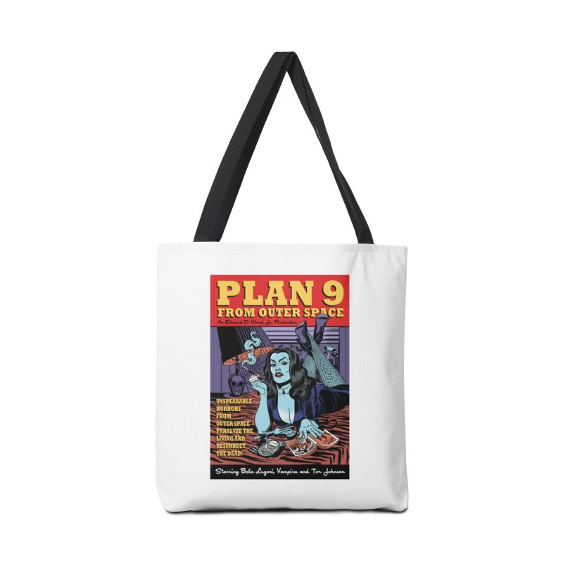 Plan 9 Accessories Bag by Mitch O'Connell