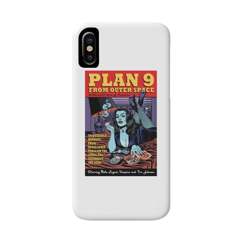 Plan 9 Accessories Phone Case by Mitch O'Connell