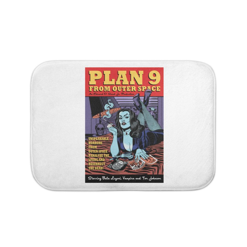 Plan 9 Home Bath Mat by Mitch O'Connell