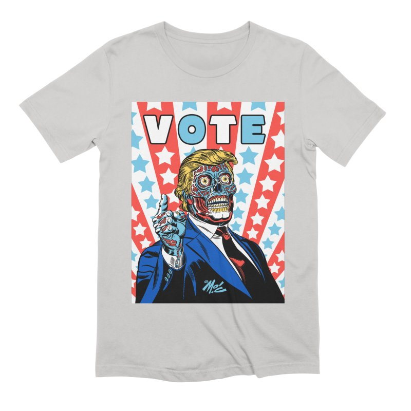 VOTE Men's Extra Soft T-Shirt by Mitch O'Connell