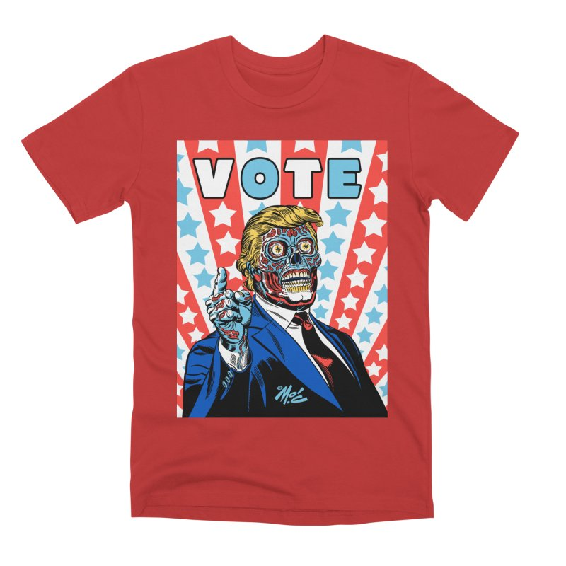 VOTE Men's Premium T-Shirt by Mitch O'Connell