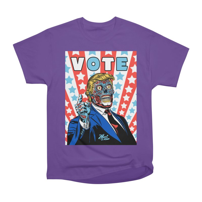 VOTE Women's Heavyweight Unisex T-Shirt by Mitch O'Connell