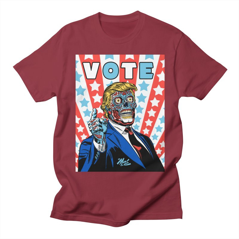 VOTE Men's Regular T-Shirt by Mitch O'Connell