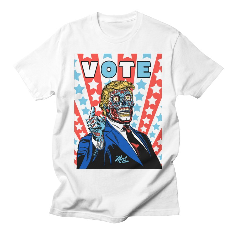 VOTE Men's T-Shirt by Mitch O'Connell