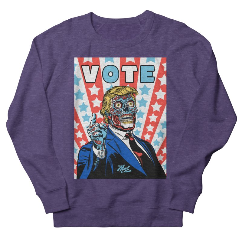 VOTE Women's French Terry Sweatshirt by Mitch O'Connell