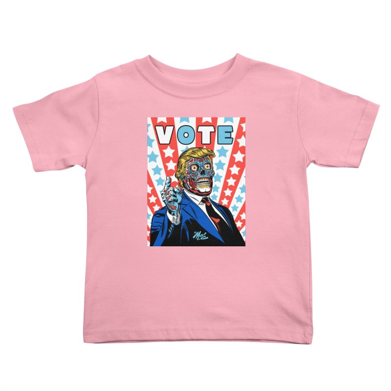 VOTE Kids Toddler T-Shirt by Mitch O'Connell