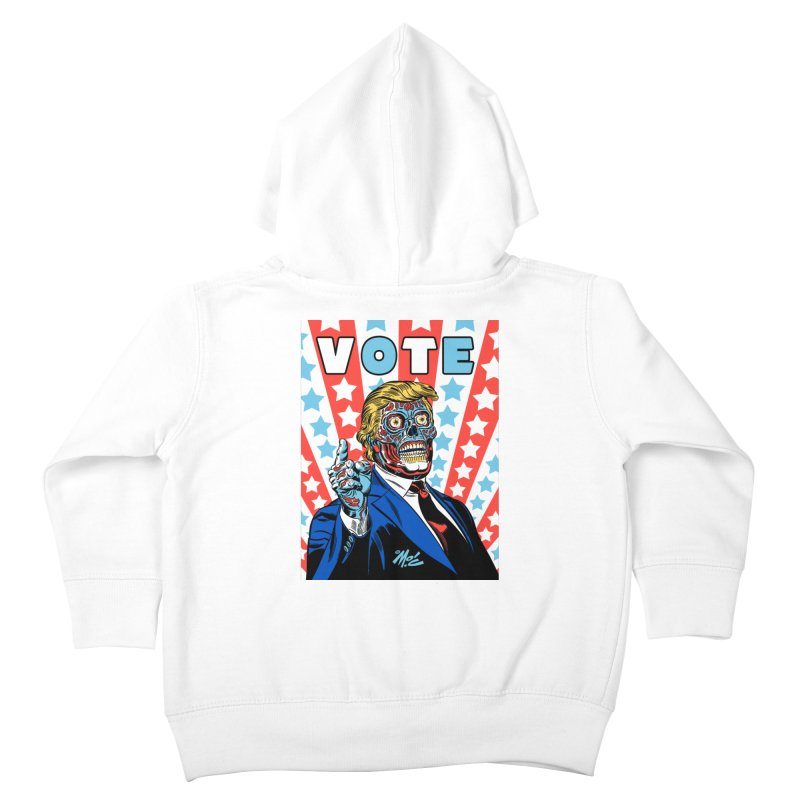 VOTE Kids Toddler Zip-Up Hoody by Mitch O'Connell