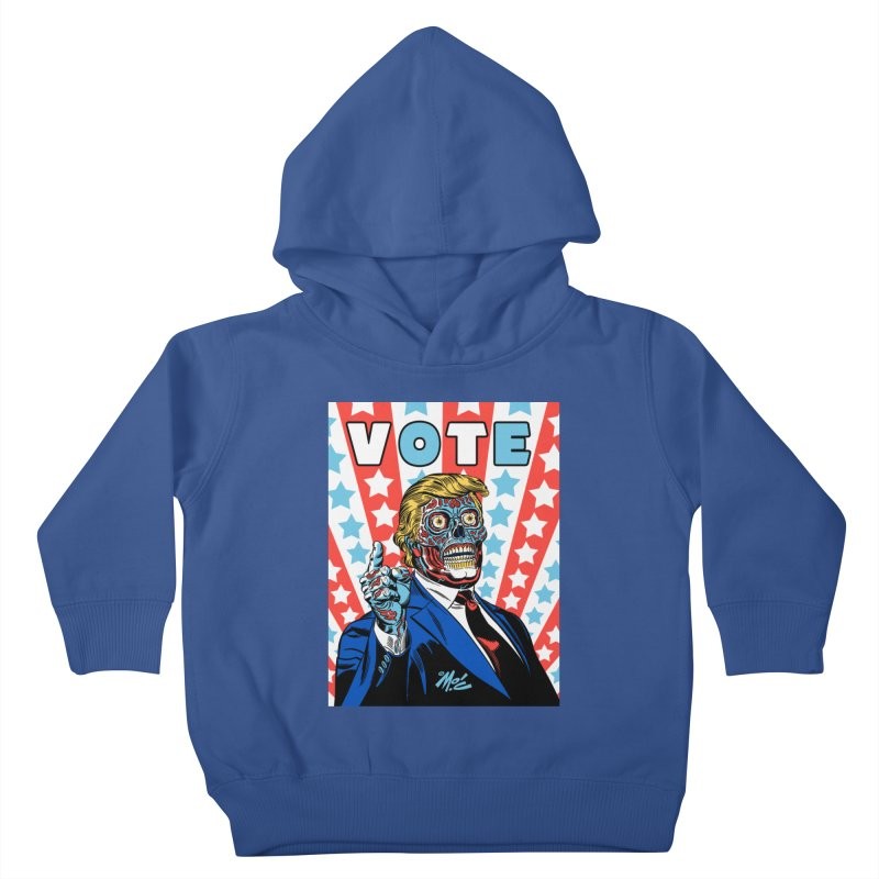 VOTE Kids Toddler Pullover Hoody by Mitch O'Connell