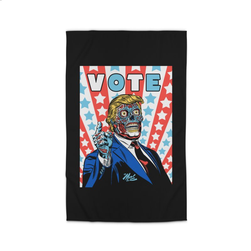 VOTE Home Rug by Mitch O'Connell