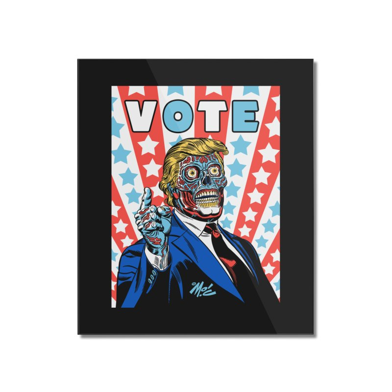 VOTE Home Mounted Acrylic Print by Mitch O'Connell