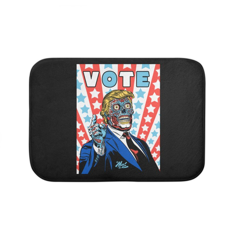VOTE Home Bath Mat by Mitch O'Connell