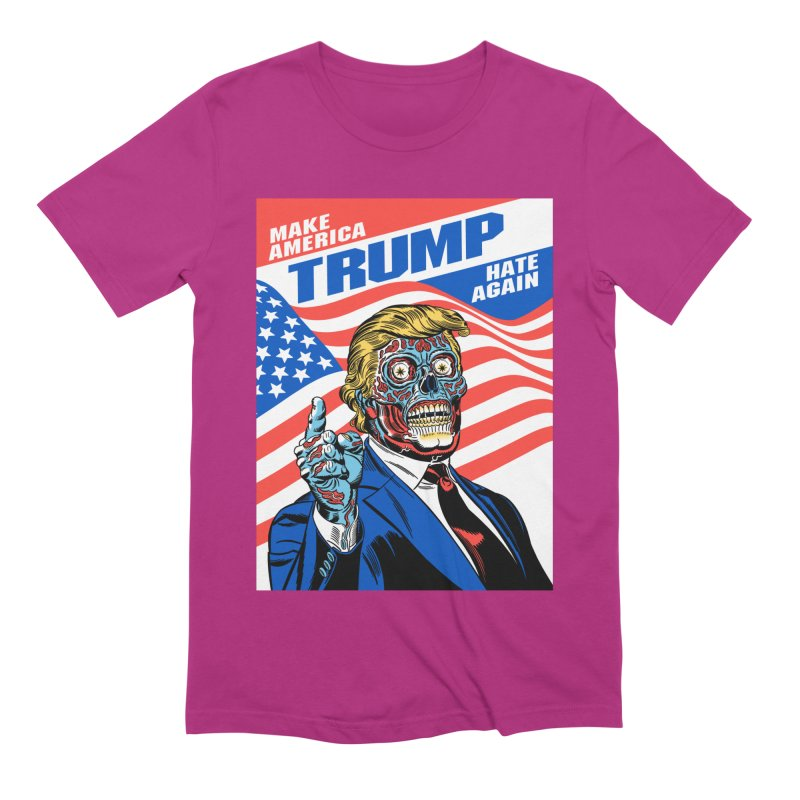 Make America Hate Again! Men's Extra Soft T-Shirt by Mitch O'Connell