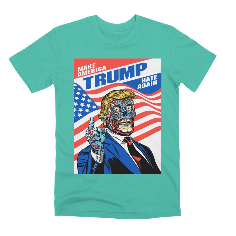 Make America Hate Again! Men's Premium T-Shirt by Mitch O'Connell