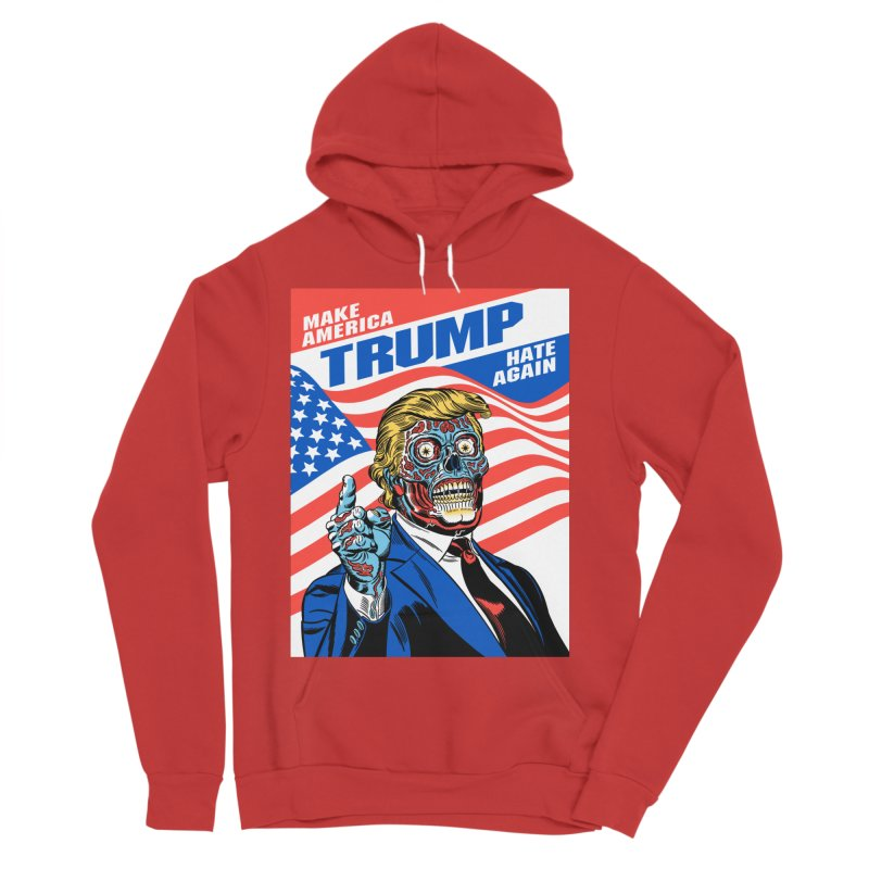 Make America Hate Again! Men's Sponge Fleece Pullover Hoody by Mitch O'Connell