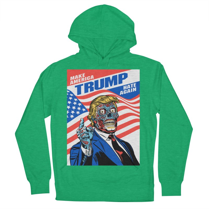 Make America Hate Again! Women's French Terry Pullover Hoody by Mitch O'Connell