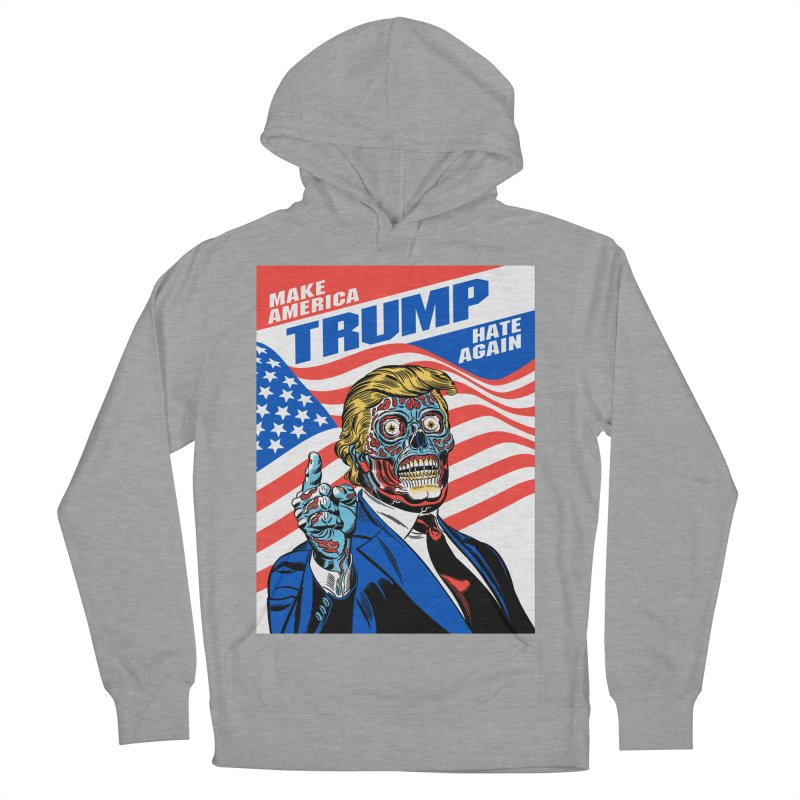 Make America Hate Again! Women's Pullover Hoody by Mitch O'Connell