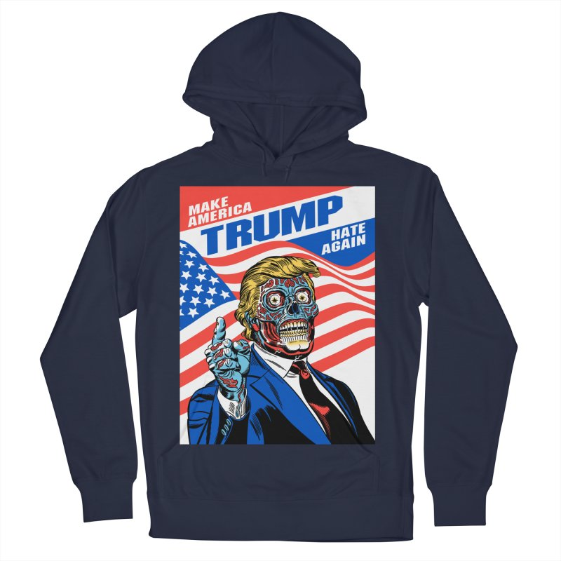 Make America Hate Again! Men's Pullover Hoody by Mitch O'Connell