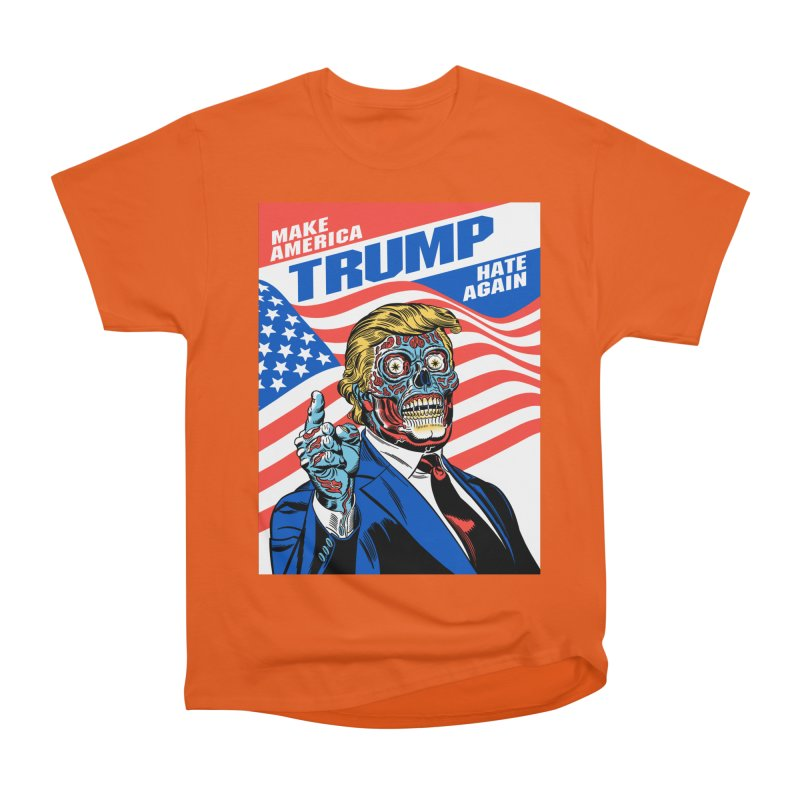 Make America Hate Again! Men's Heavyweight T-Shirt by Mitch O'Connell