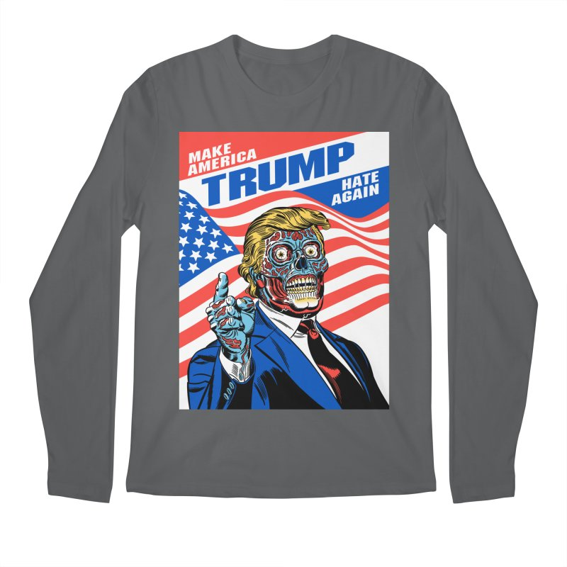 Make America Hate Again! Men's Longsleeve T-Shirt by Mitch O'Connell