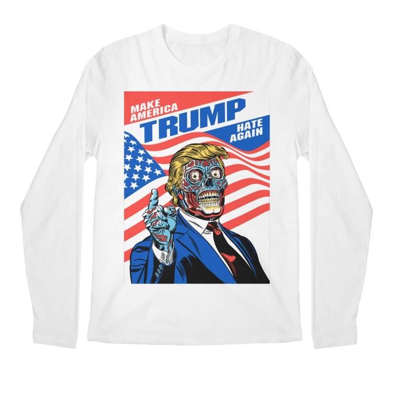 Make America Hate Again! Men's Regular Longsleeve T-Shirt by Mitch O'Connell
