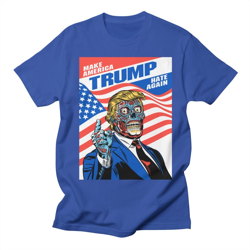Make America Hate Again! Men's Regular T-Shirt by Mitch O'Connell