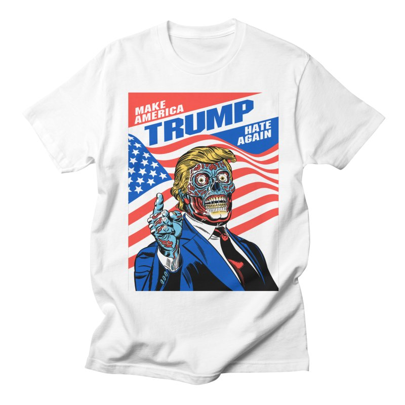 Make America Hate Again! Men's T-Shirt by Mitch O'Connell