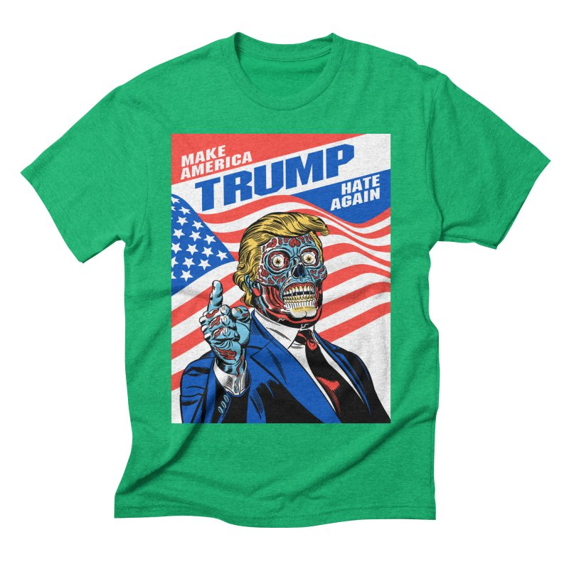 Make America Hate Again! Men's Triblend T-Shirt by Mitch O'Connell