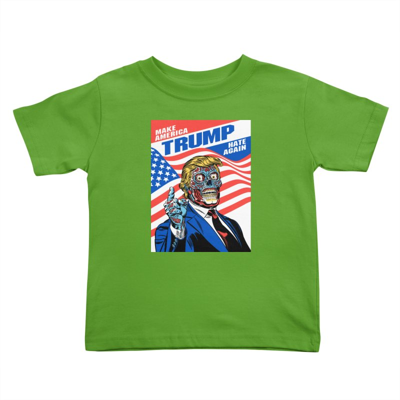 Make America Hate Again! Kids Toddler T-Shirt by Mitch O'Connell