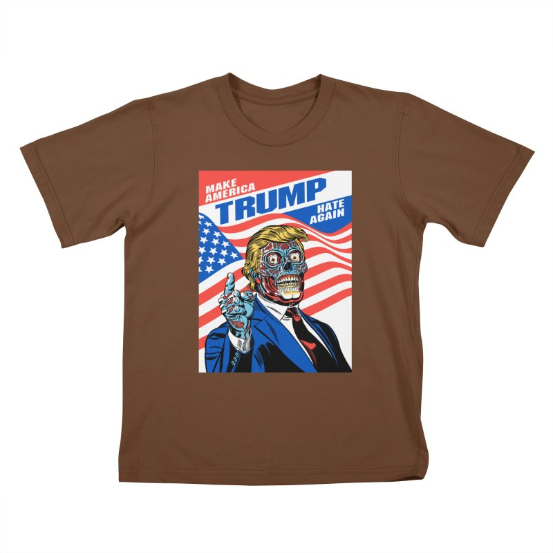 Make America Hate Again! Kids T-Shirt by Mitch O'Connell