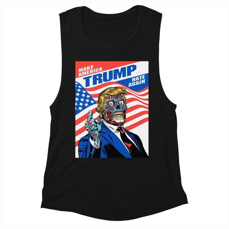 Make America Hate Again! Women's Tank by Mitch O'Connell